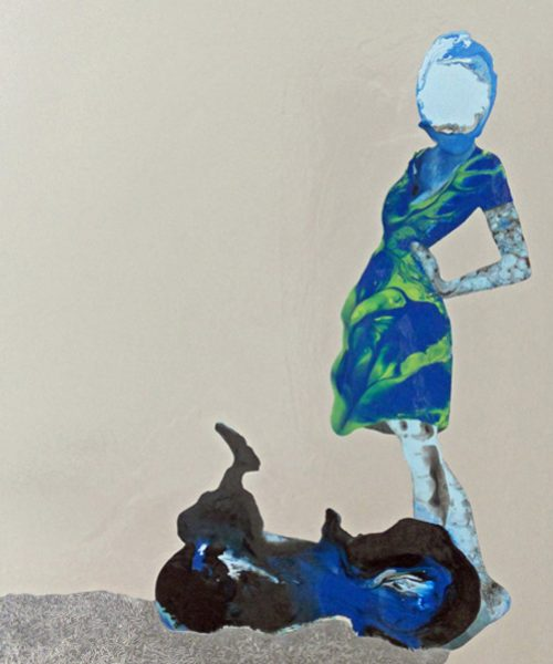 Featherweight - Women paintings series by Angela Smith