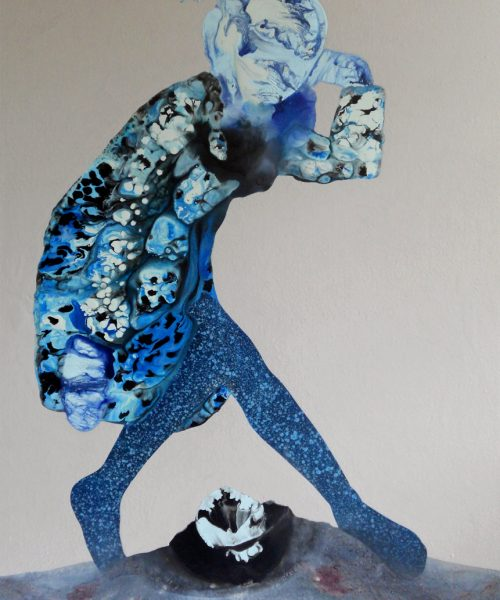 Sidestep - Wome paintings series by Angela Smith