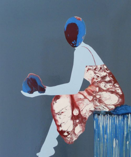 Torn - Women paintings series by Angela Smith